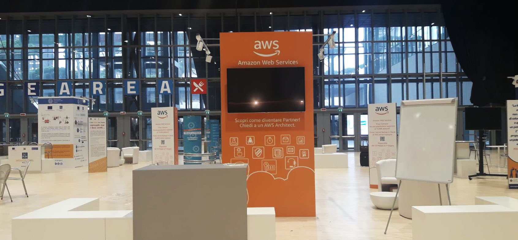 Innovation in public sector AWS at forum PA with ATC