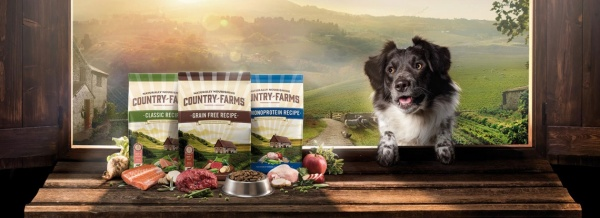 Country Farms booth at Zoomark international trade fair