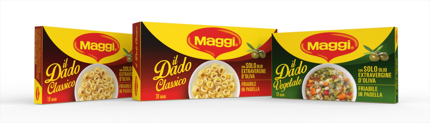 Maggi: a new packaging for famous stock cubes | ATC - Linea