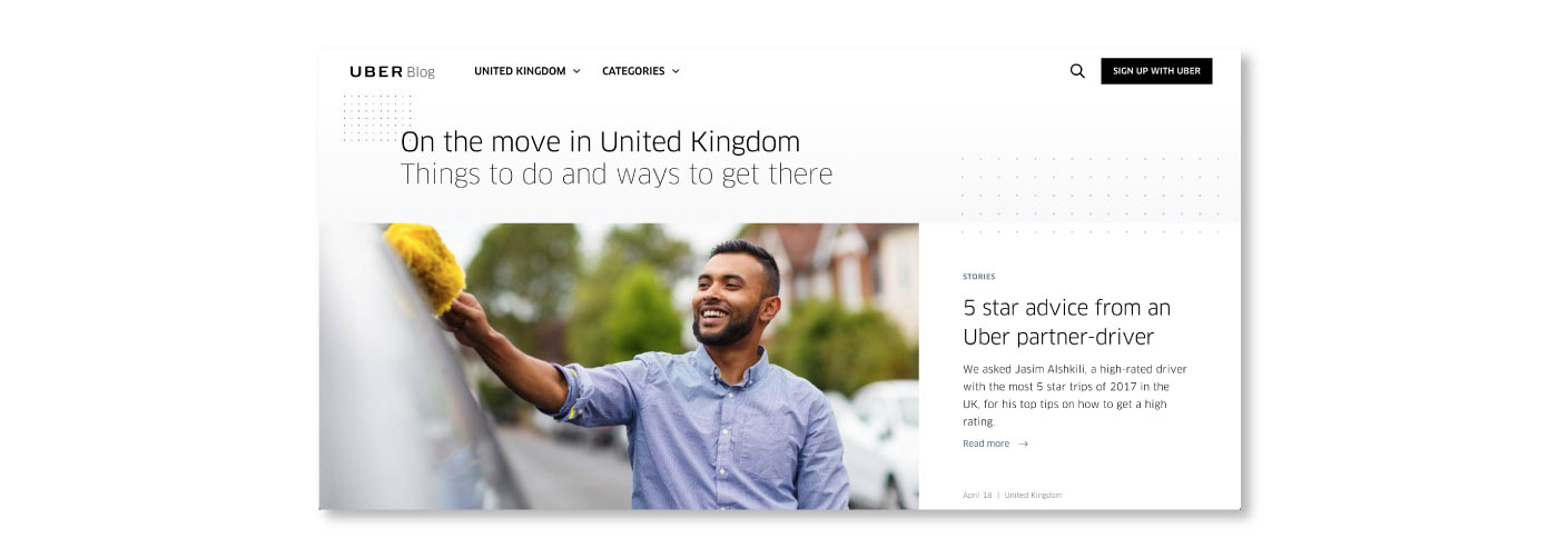 Uber an example of value innovation in a digital product