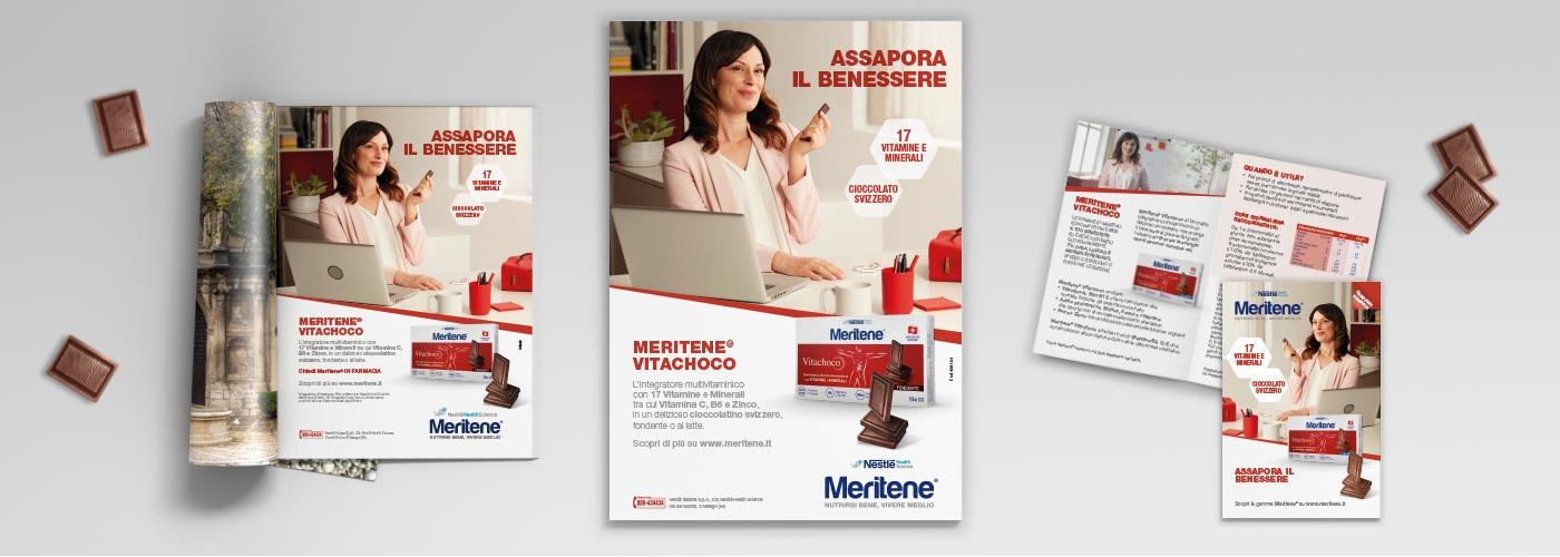 ATC curated the shooting and creative concept of the TV commercial Meritene Vita Choco