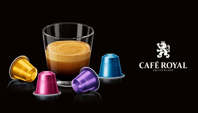lancio b2b capsule alluminio Café Royal