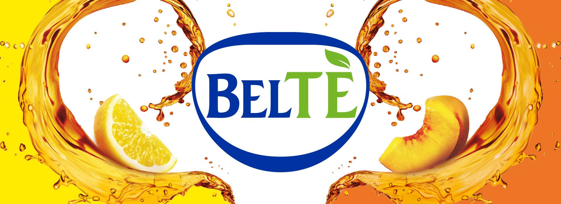Beltè ice tea labels and bundles repackaging