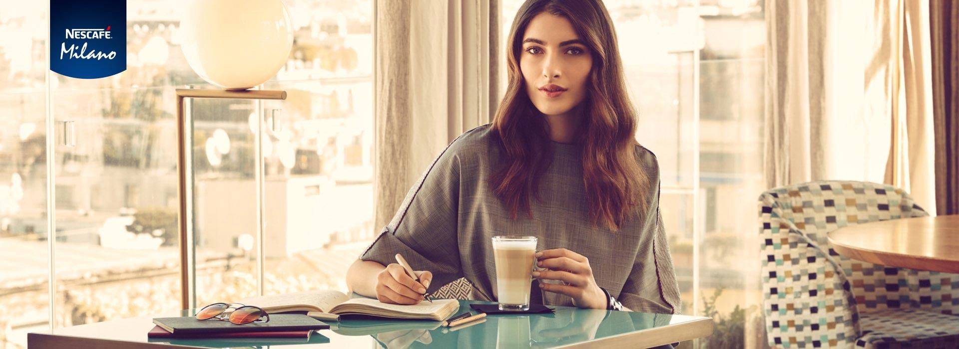 servizio fotografico advertising campagna pubblicitaria below the line Nescafé COMBI
