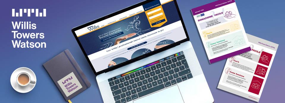UX strategy, Customer Journey Mapping, Web Design & Digital per Willis Towers Watson