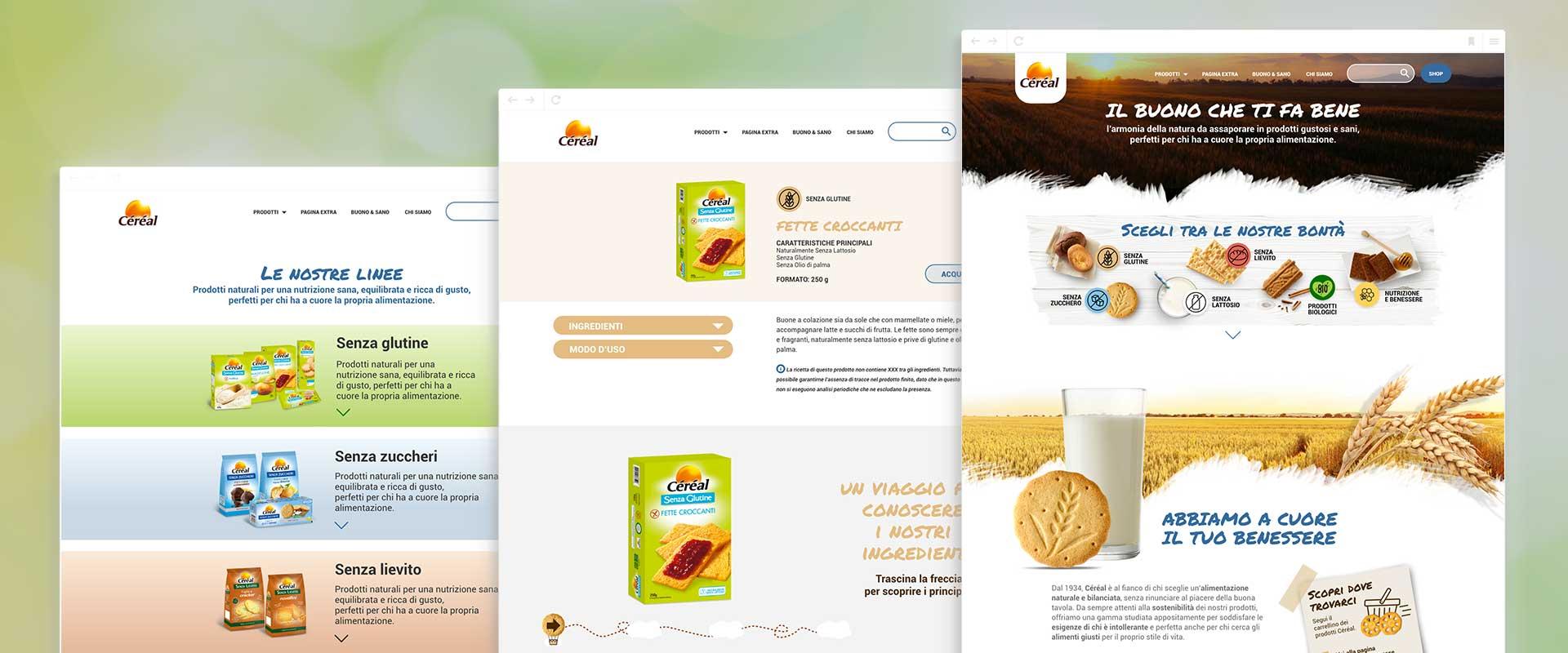 il nuovo sito di Cereal disegnato da ATC è user-centered e interattivo
