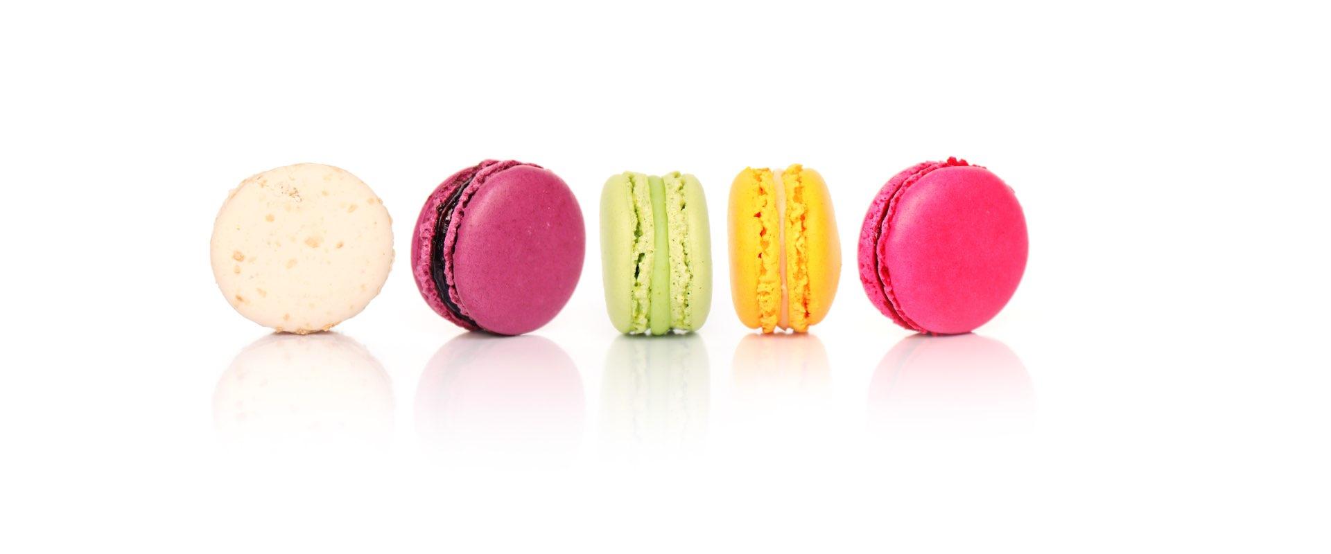 macarons catering design evento lenti Essilor