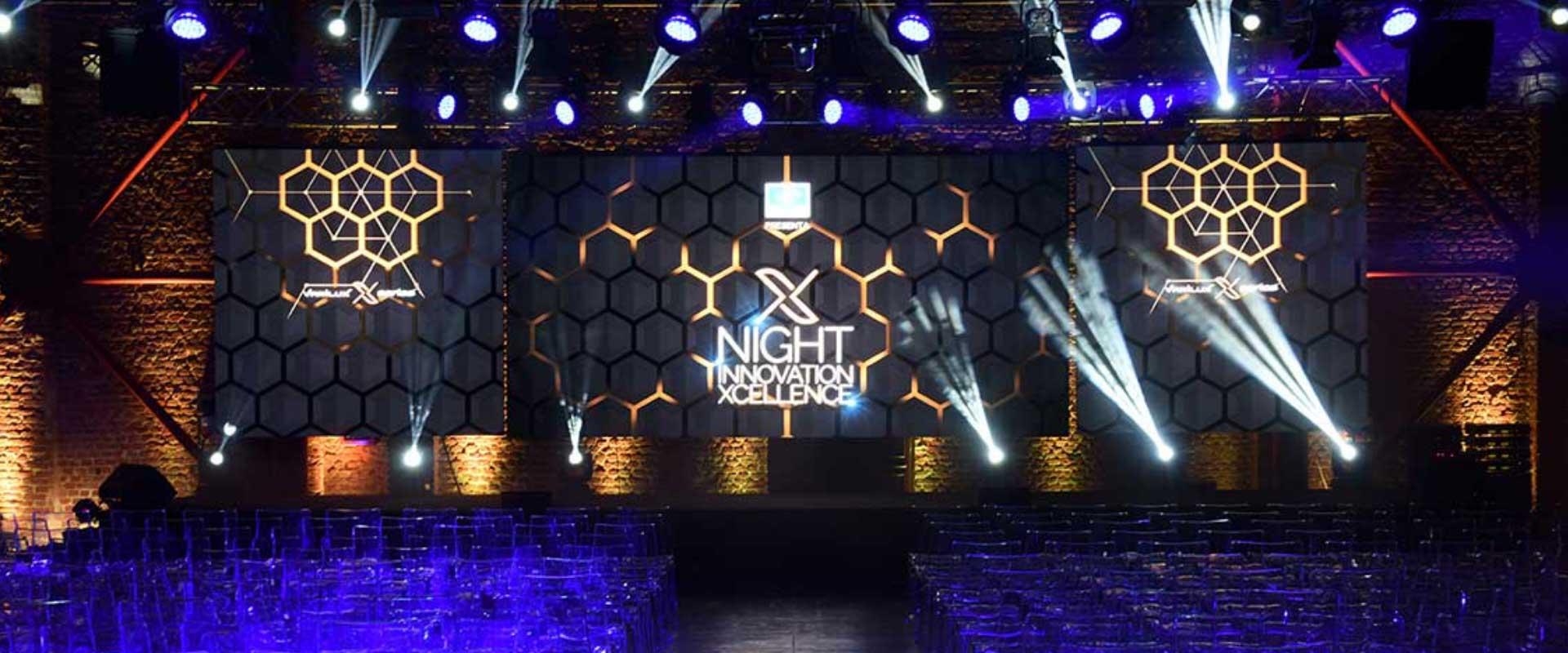 event design Essilor palazzo mezzanotte Borsa Milano piazza affari
