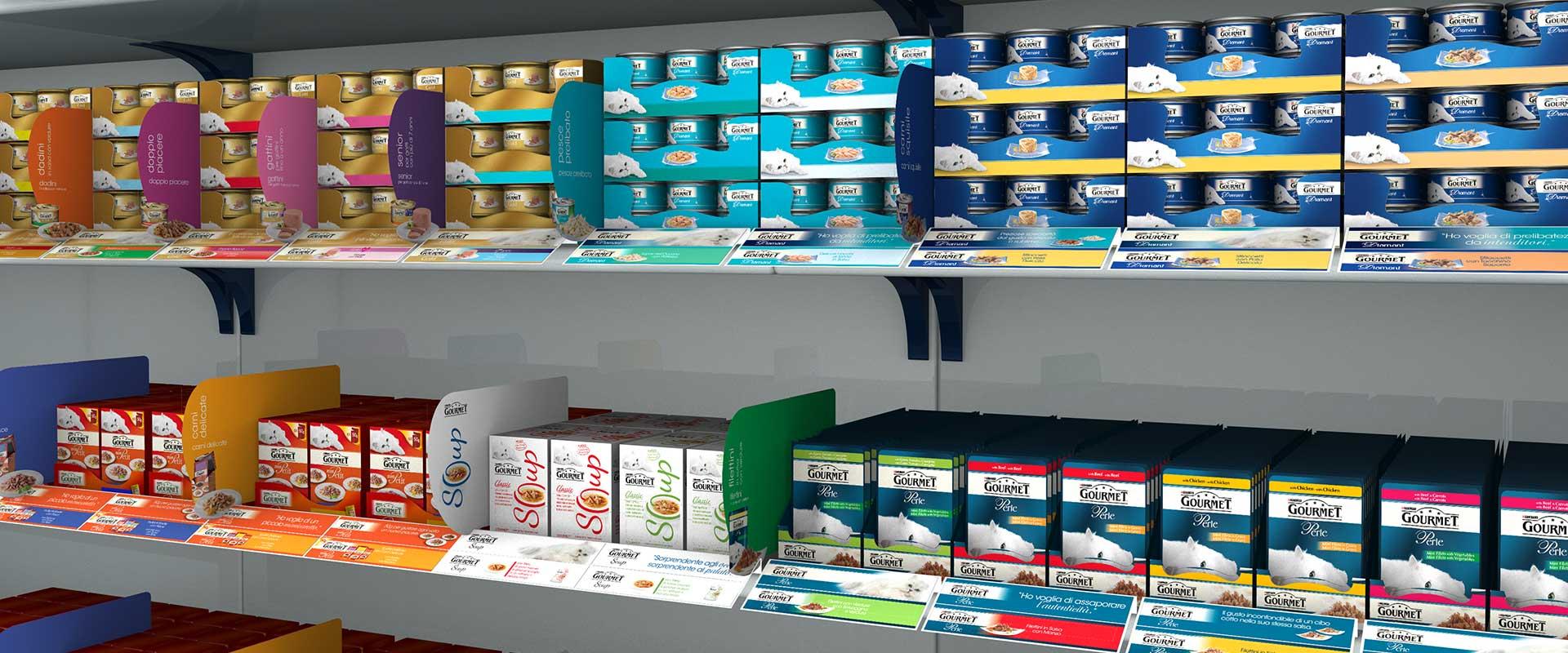 attivazione punto vendita specializzato below the line Gourmet