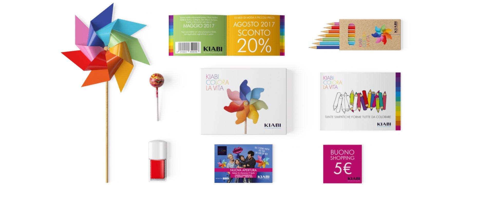 kit campagna attivazione punto vendita nuovi store Kiabi