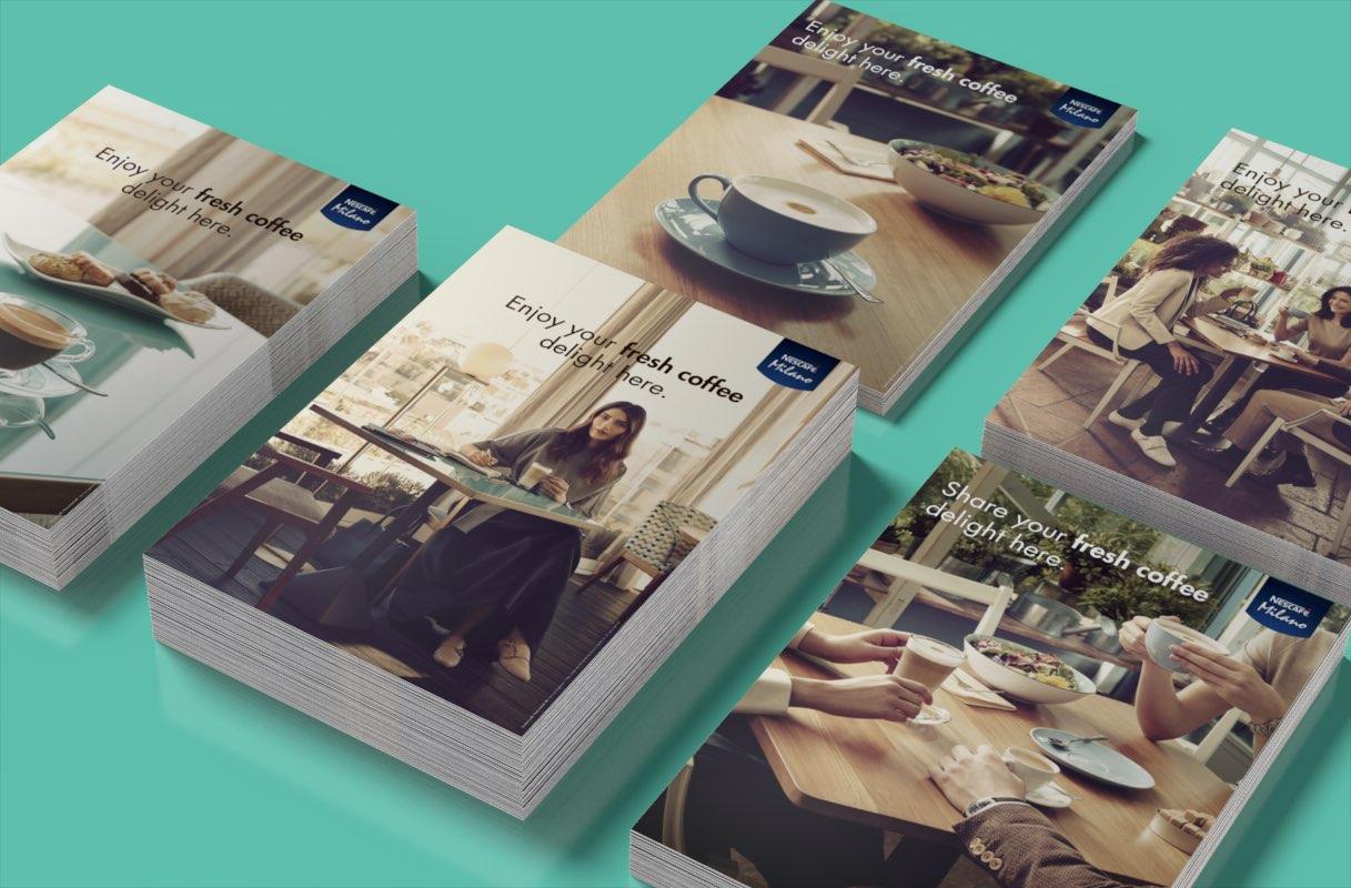 campagna internazionale attivazione trade Nescafé COMBI