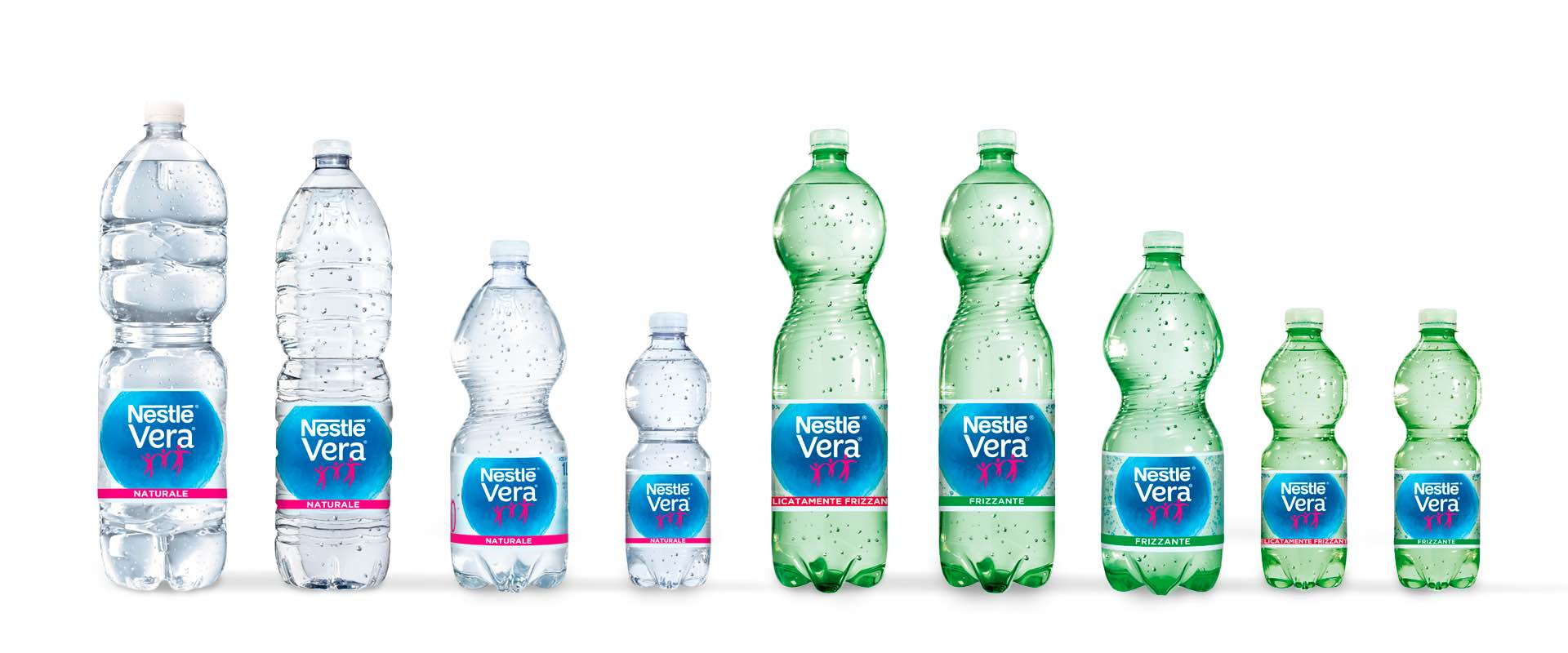 Nestlé Vera natural and sparkling water range relaunch