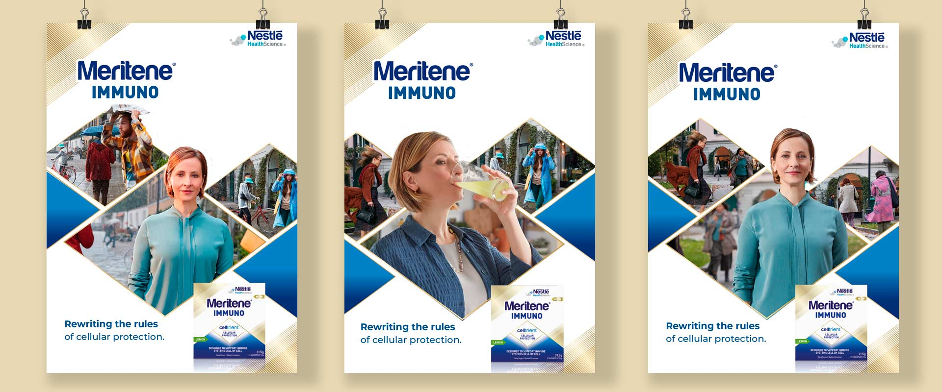ATC - All Things Communicate creates the Meritene Immuno advertising campaign