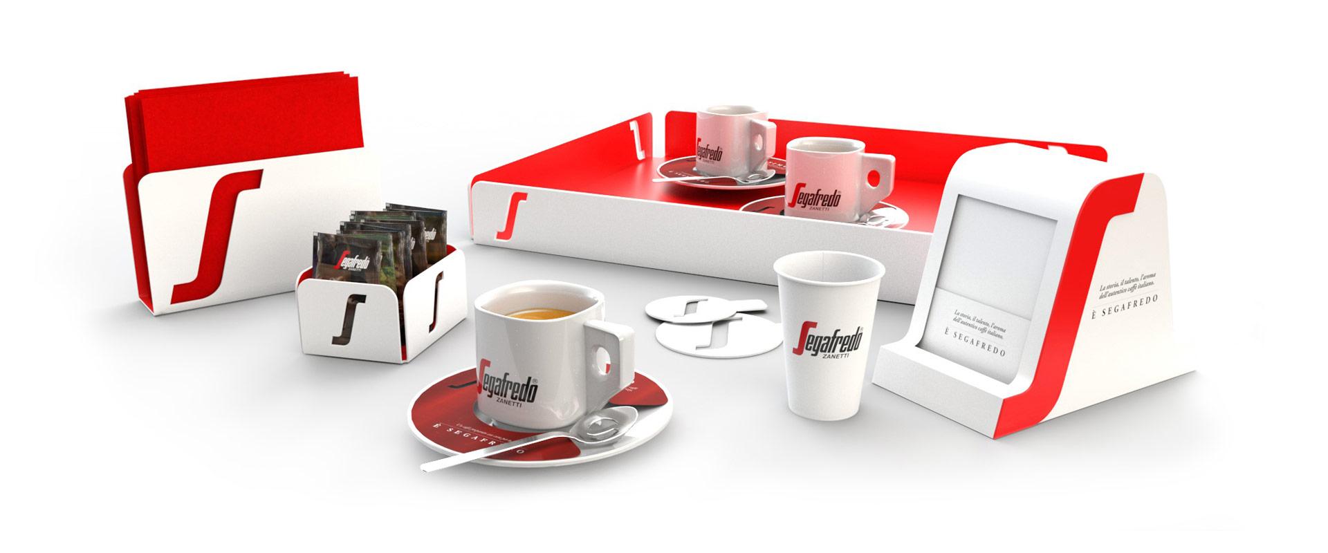 segafredo accessories bar channel design positioning